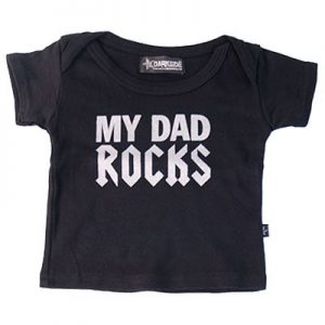 My Dad Rocks Humourous Baby/Toddler T-shirt