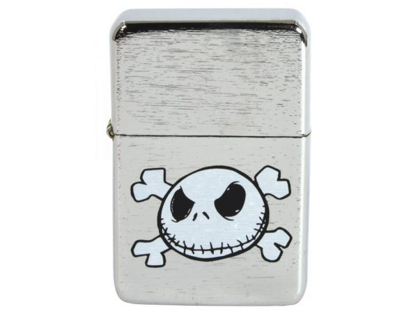 Nightmare Before Christmas Jack Skellington Skull and Crossbones Lighter Bomb Lighters