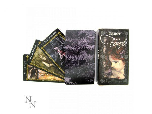 Nemesis Now Victoria Frances Favole Gothic Dark Tarot Cards