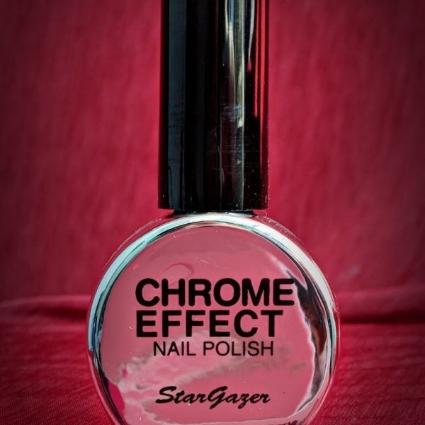 Silver Chrome Nail Polish