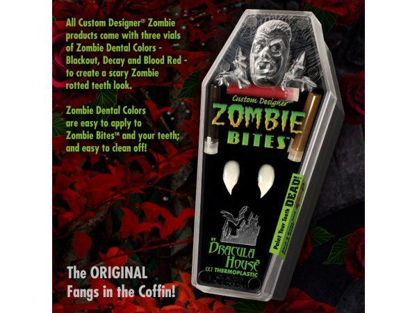 Custom Designer Zombie Bites Dracula House Fangs