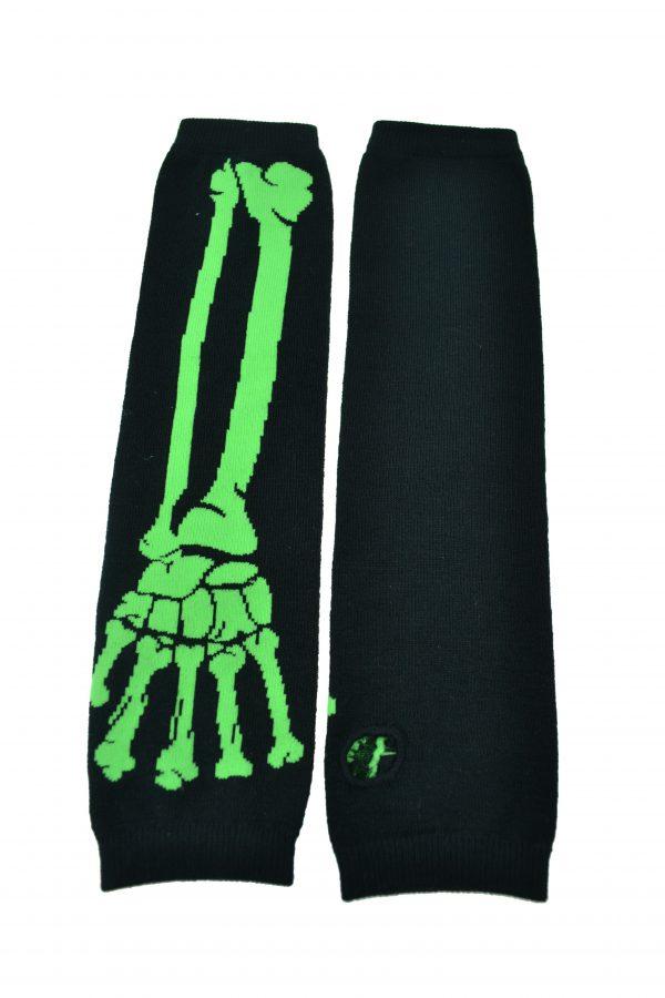 Skeleton Arm Warmers Tribal Voice