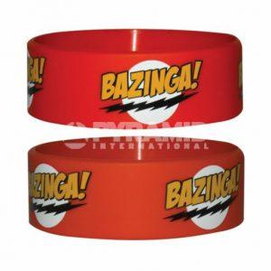 Bazinga Rubber Wristband
