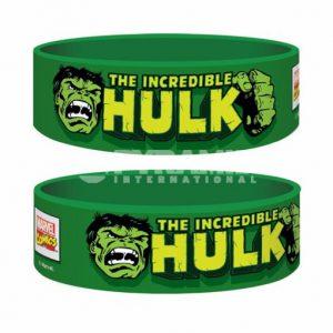 Retro Hulk Rubber Wristband