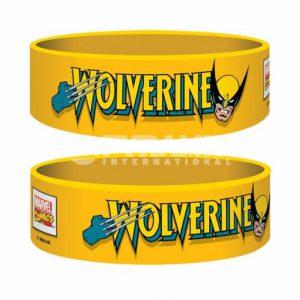 Retro Wolverine Rubber Wristband