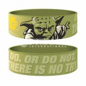 Yoda Rubber Wristband