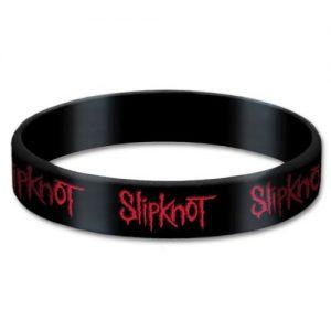 Slipknot Rubber Wristband