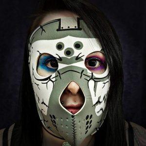 Hockey Style Bike Mask