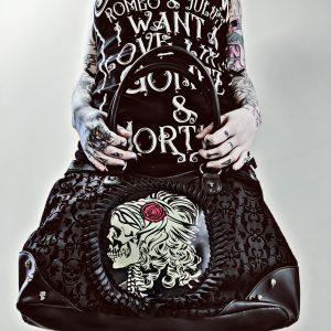 Cameo Skull Bag