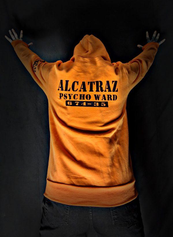 Alcatraz Inmate Zip Hoodie