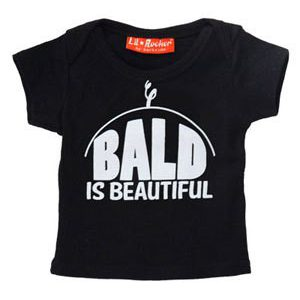 Bald is Beautiful Baby Tee