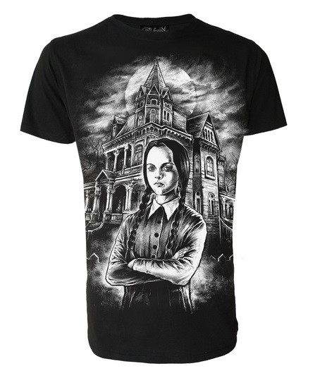 Wednesday Addams T Shirt from Darkside