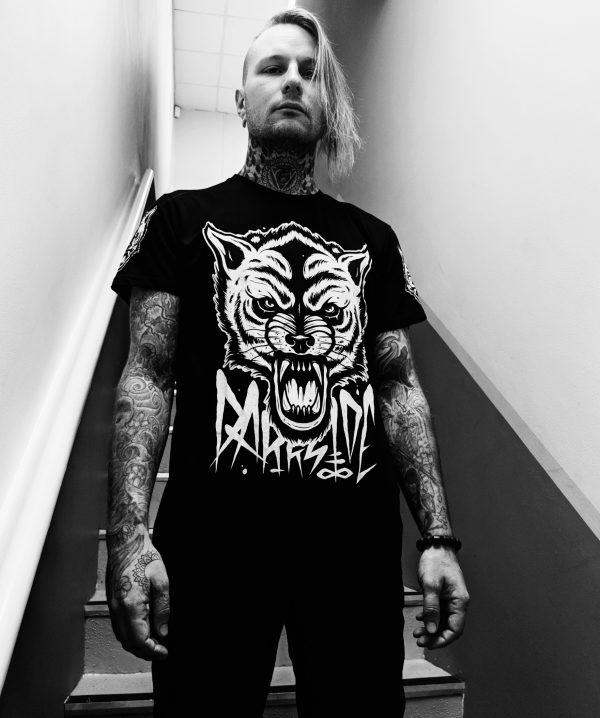 Wolf T Shirt by Darkside