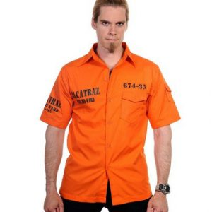 Alcatraz Shirt - Orange