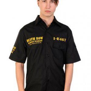 Death Row Shirt - Black
