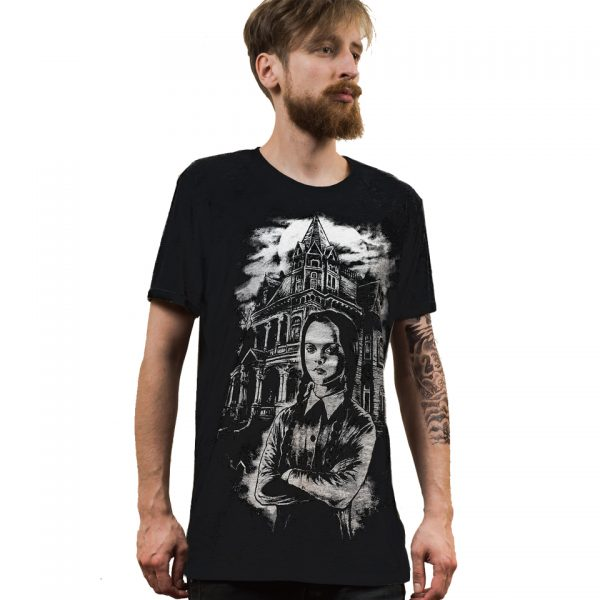 Wednesday T-Shirt Addams Family