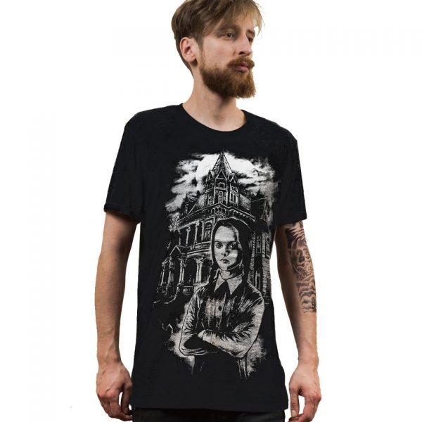 Wednesday T-Shirt Addams Family