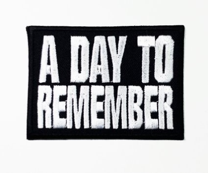 A Day To Remember Patch