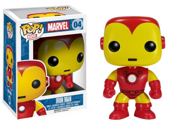 Iron Man Bobble Head Pop Figure