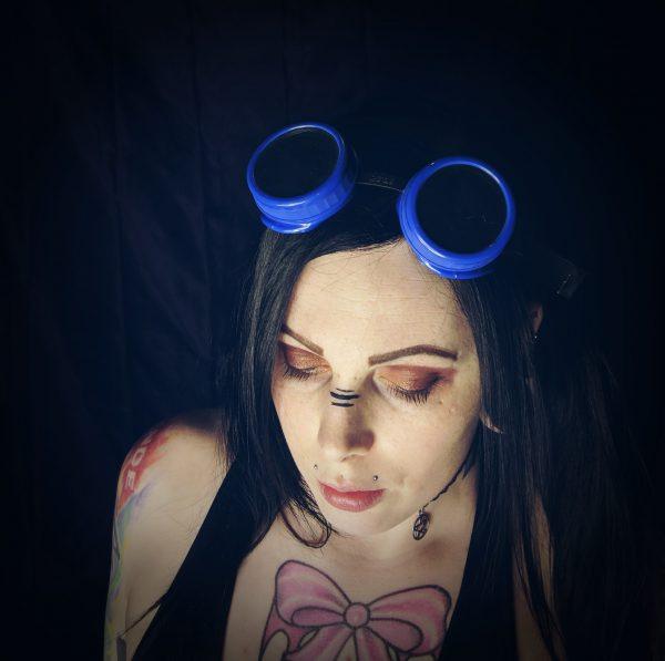 Steam Punk Cyber Goth Goggles