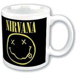 Nirvana Smiley Mug