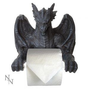 Large Dragon Toilet Roll Holder