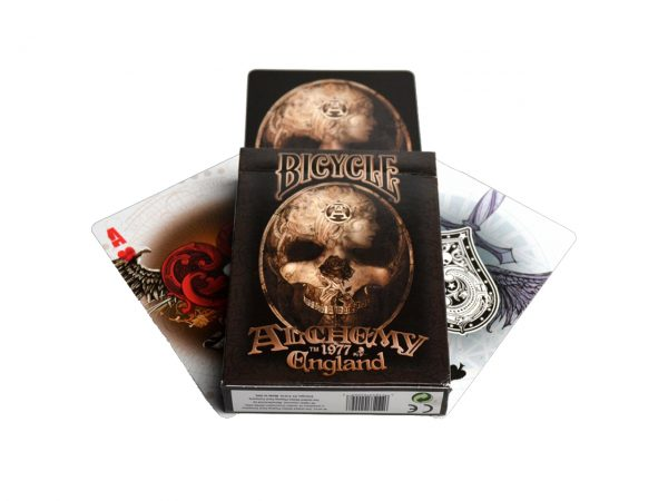 Nemesis Now Alchemy England Gothic Dark Playing Cards