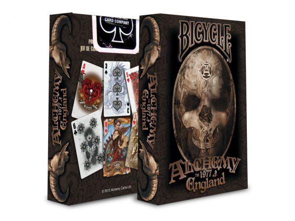 Nemesis Now Alchemy England Gothic Dark Playing Cards