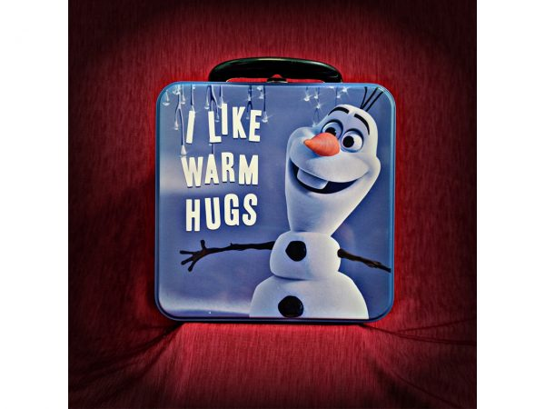 Disney Frozen Olaf the Snowman Metal Tin Lunch Box