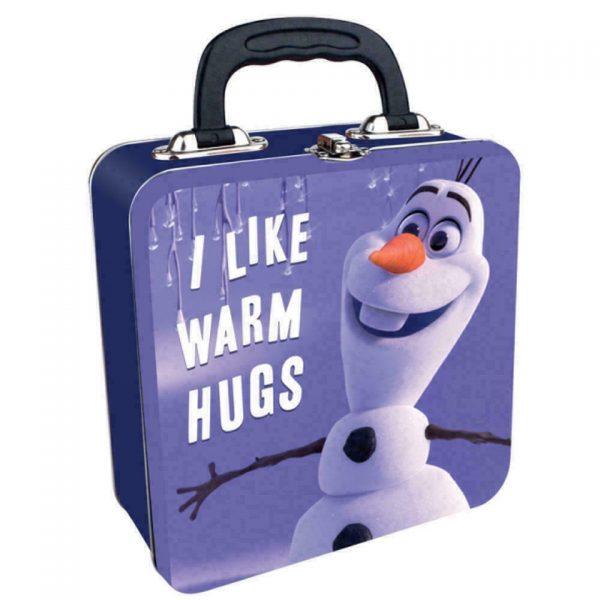 Disney Frozen Olaf the Snowman Metal Tin Lunch Box