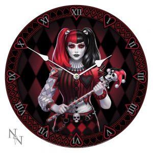 Dark Jester Clock