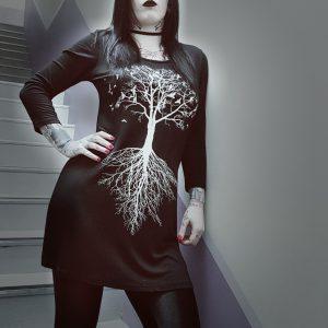 Raven Branch Dress