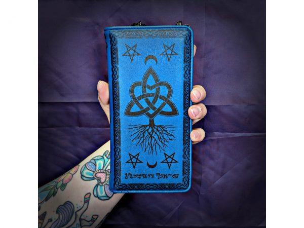 Last Hope of Misery Blue Pentagram Wallet