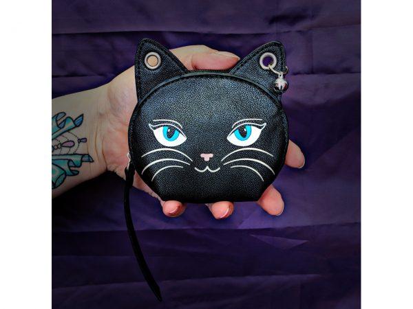 Feminine Feline Cat Coin Purse