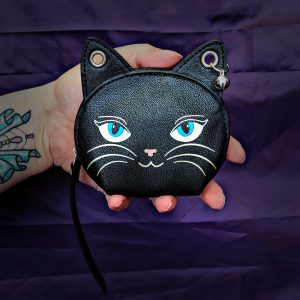 Kitty Face Purse