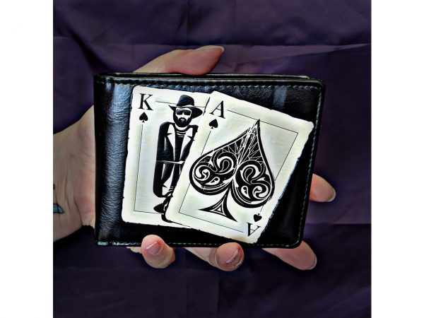 Vegas Playing Cards Wallet Motorhead