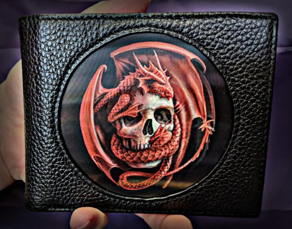 Red Dragon 3D Wallet