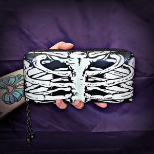 Glow In The Dark Bones Wallet