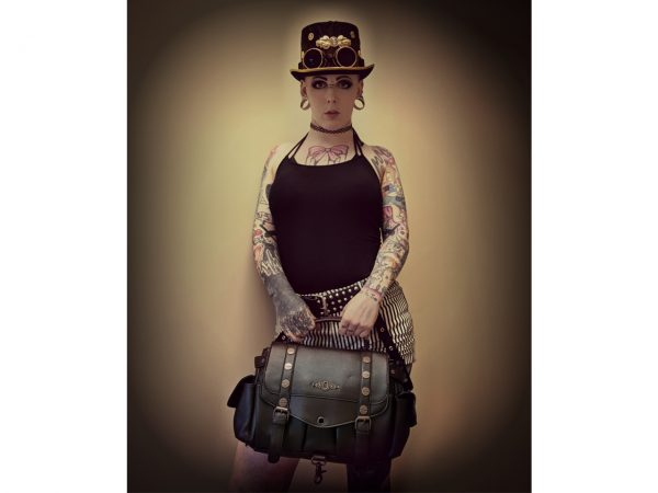 Brown Steampunk Handbag Banned Apparel