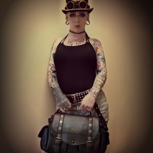 Brown Steampunk Bag