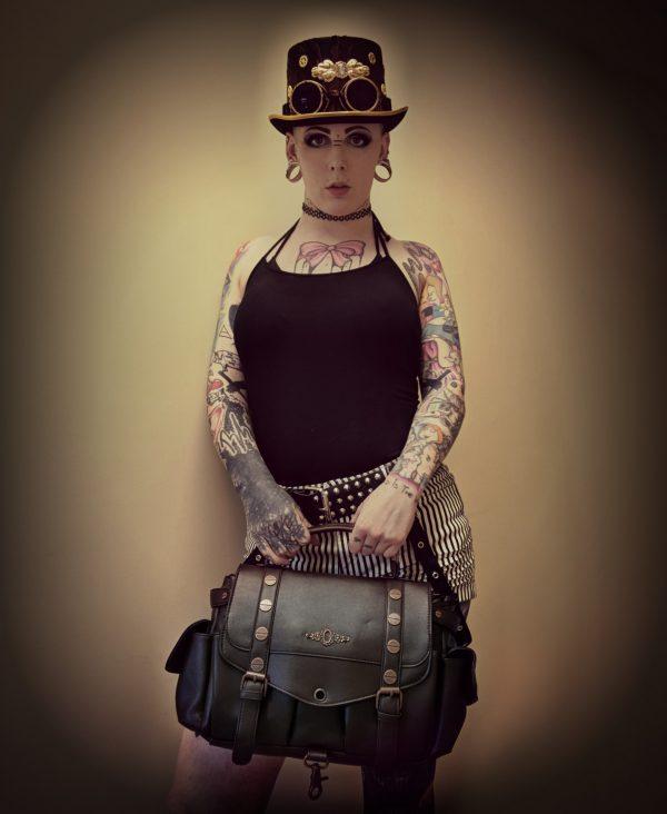Brown Steampunk Bag