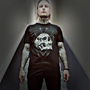 Inked Skull T Shirt