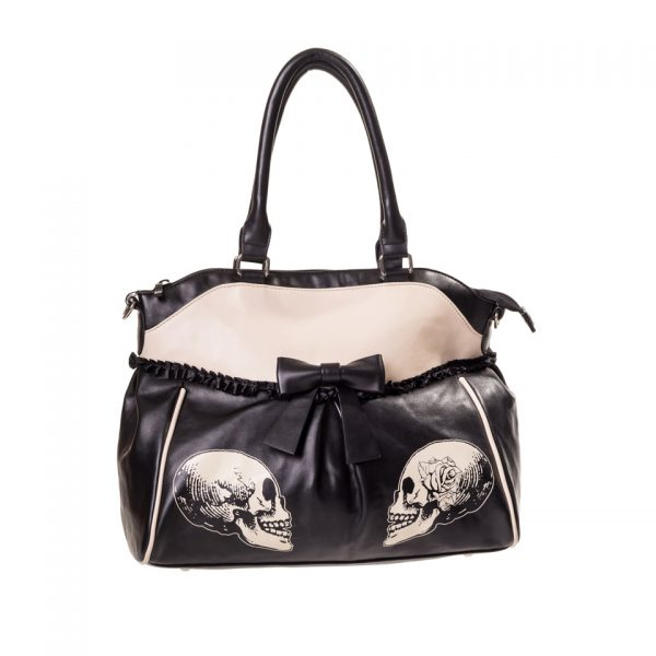 Parallel Universe Stand Your Ground Skull Handbag Banned Apparel