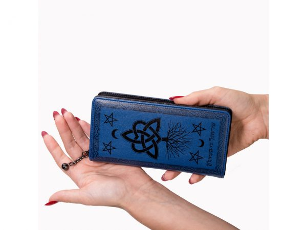 Last Hope of Misery Blue Pentagram Wallet