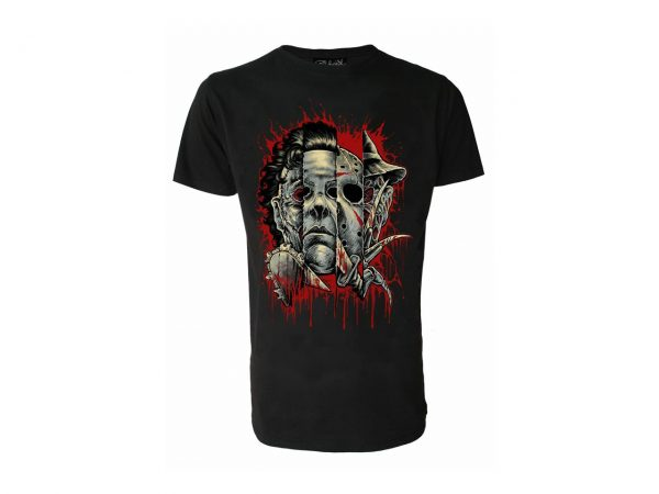 Faces of Horror T-Shirt