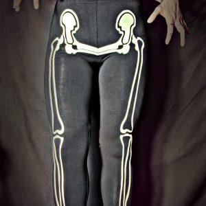 Skeleton GLOW IN THE DARK leggings