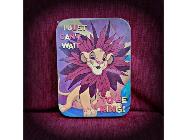 Disney The Lion King Simba Keepsake Collectors Tin Half Moon Bay