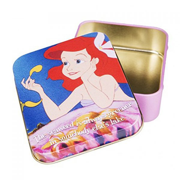 Disney The Little Mermaid Ariel Keepsake Collectors Tin Half Moon Bay