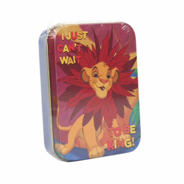 Disney The Lion King Simba Keepsake Collectors Tin Half Moon Bay