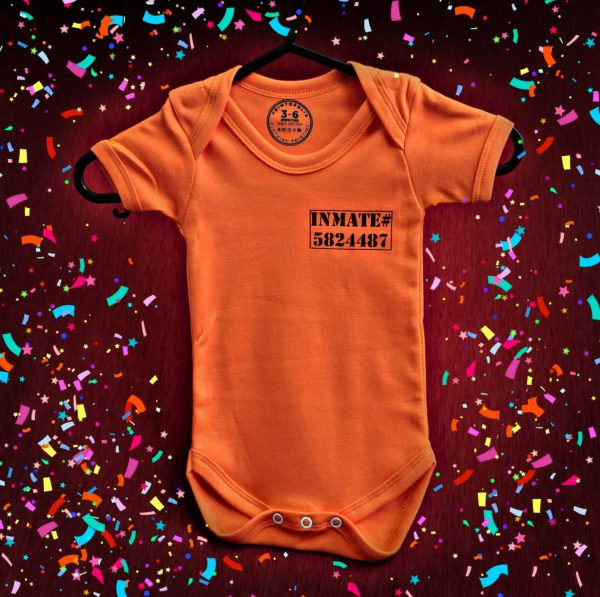 Inmate Funny Baby Grow